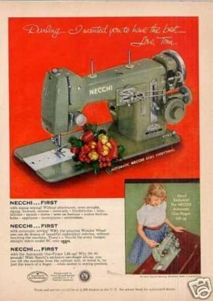 Necchi Sewing Machine (1954)