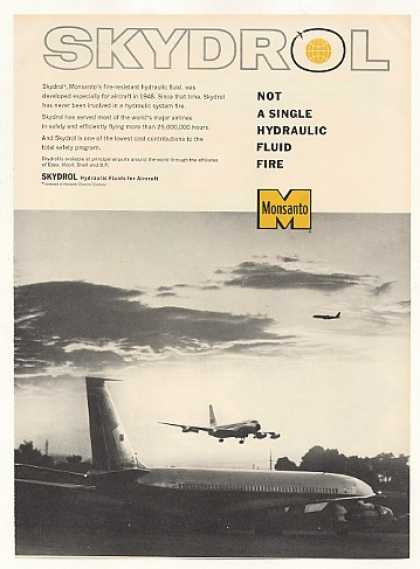 Monsanto Skydrol Aircraft Hydraulic Fluid (1963)