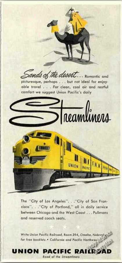 Union Pacific Railroad Streamliners (1950)