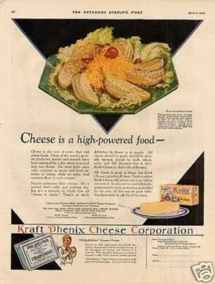 Kraft Cheese Color (1929)