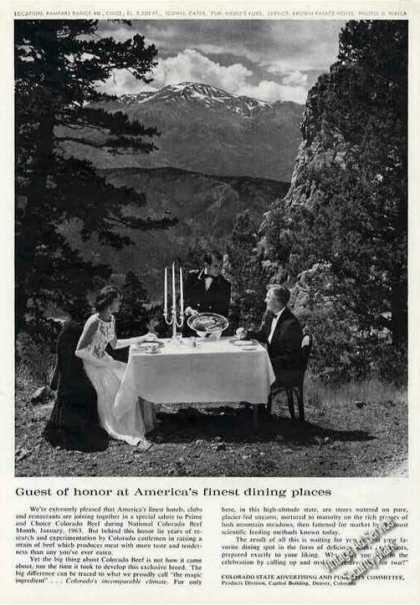 Rampart Range Rd Photo Colorado Beef Dining (1962)