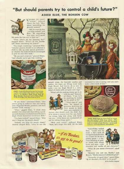 Eagle Brand Sweetened Condensed Milk (1948)