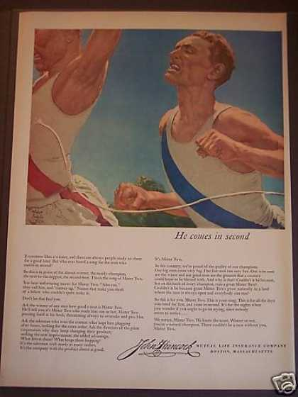 John Hancock Mutual Life Insurance Athletes (1953)
