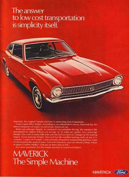 Ford's Maverick