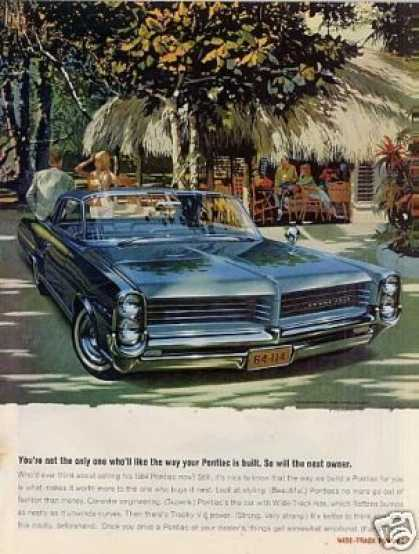 "Pontiac Bonneville Car Ad ""You're Not the Only... (1964)"