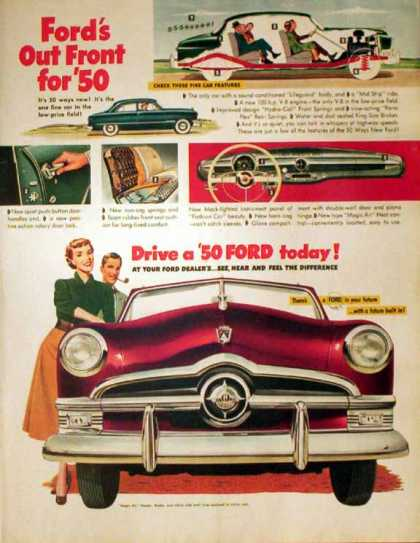 Ford Motor Company – 1950 Car Features (1949)