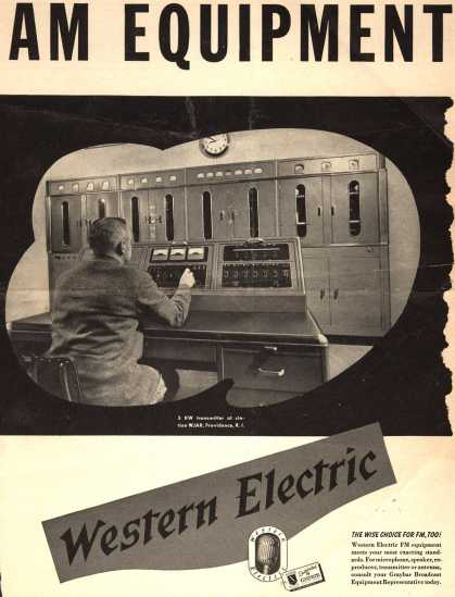 Graybar Electric Company's Various – AM Equipment (1946)
