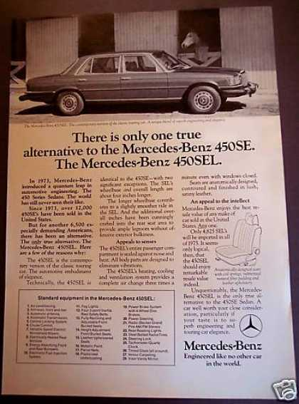 Mercedes-benz 450sel Car Automobile (1975)