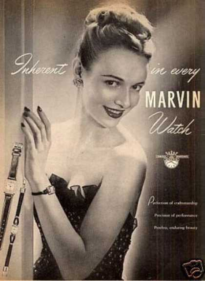 Marvin Watches (1946)