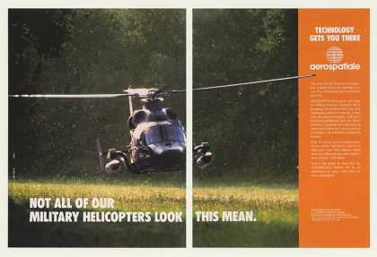 Aerospatiale AS 565 Panther Helicopter Photo 2P (1990)
