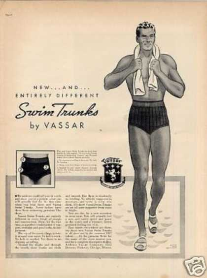 Vassar Swim Trunks (1937)