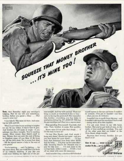 "Wwii Ad ""Use It Up..wear It Out..make It Do Etc."" (1944)"