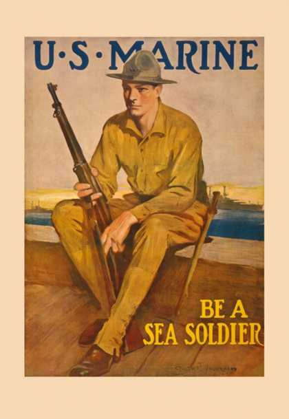 U.S. Marine, Be a Sea Soldier