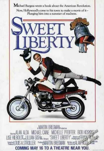 "Alan Alda In ""Sweet Liberty"" Pre-release Movie (1986)"