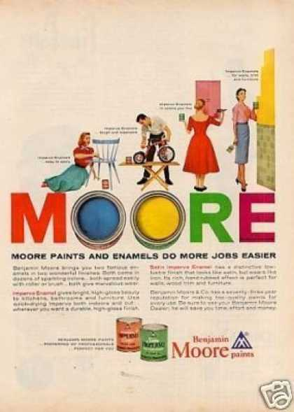 Benjamin Moore Paint (1956)