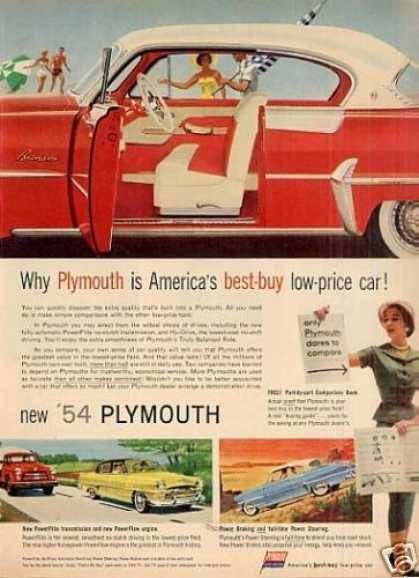 Plymouth Car (1954)