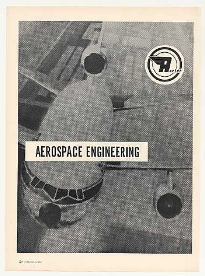 Aerfer Aerospace Engineering DC-10 Jet Vintage (1969)