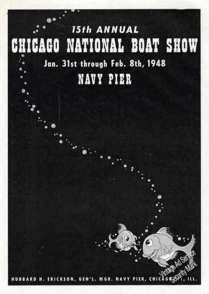 15th Annual Chicago National Boat Show (1947)