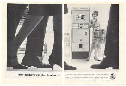 Pepsi-Cola Bottle Vending Machine 2-Page Trade (1959)
