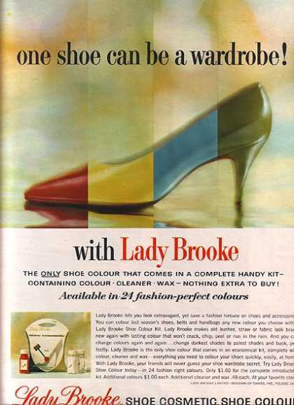 Lady Brooke's Shoe Coloring Kit (1964)