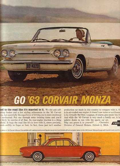 General Motor's Chevrolet Corvair (1962)