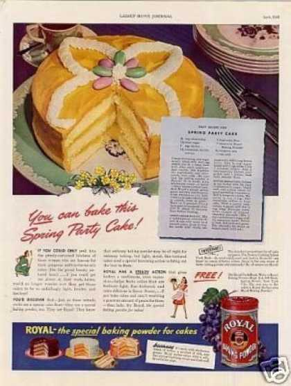 Royal Baking Powder (1942)