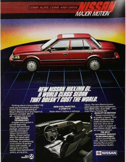 Vintage Car Advertisements Of The 1980s Page 15