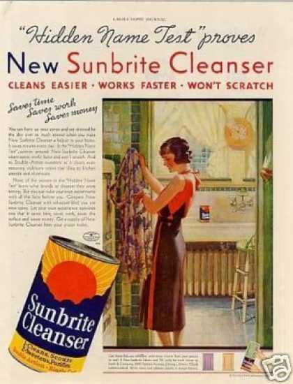 Sunbrite Cleanser Color (1933)