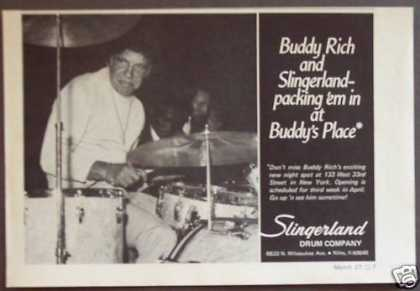 Buddy Rich Slingerland Drum Co Music (1975)