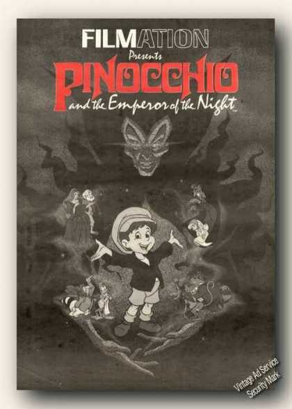 Pinocchio & the Emperor of the Night Movie (1986)