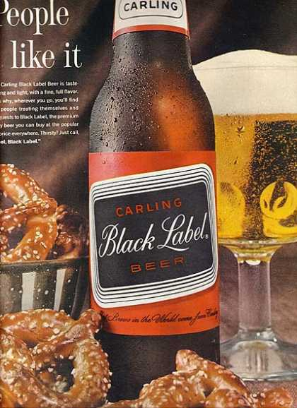 Carling's Black Label Beer (1963)