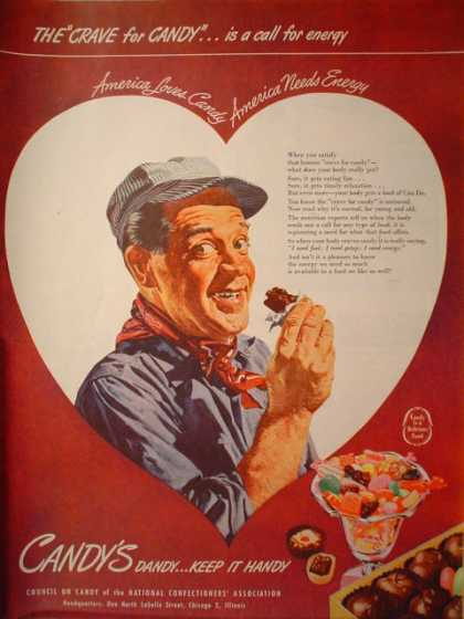 National Confectioners Council Candy is Dandy (1946)