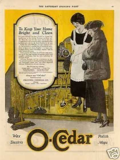 O-cedar Polish Mop Color (1923)