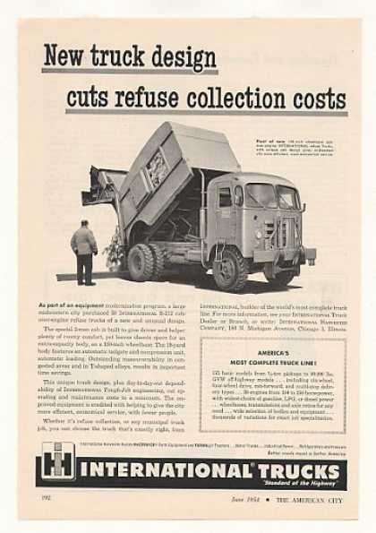 IH International R-212 Refuse Garbage Truck (1954)