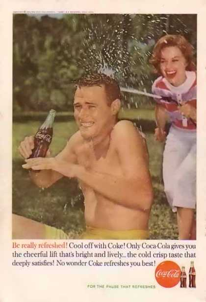 Coke Cool off with Coke (1960)