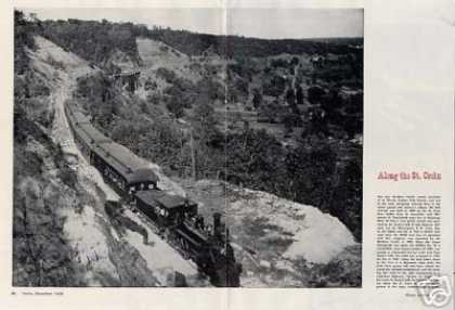 "Magazine Photo/""Along the St.croix"" Np (1948)"