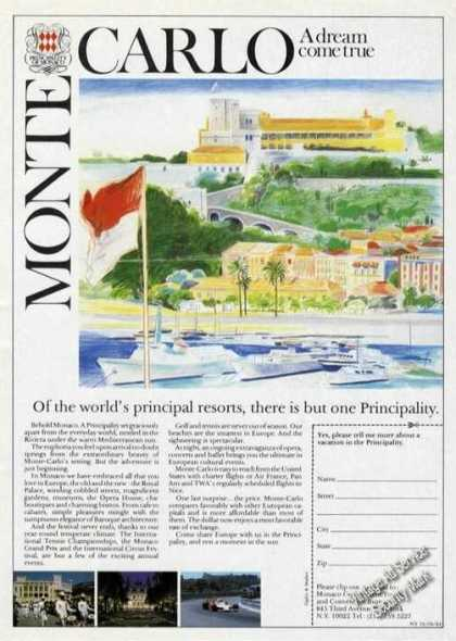 Monte Carlo Art There Is But One Principality (1984)