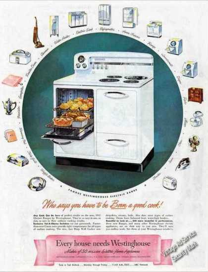 Westinghouse Electric Range Large (1947)