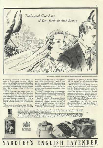 Yardleys English Lavender Perfume (1935)