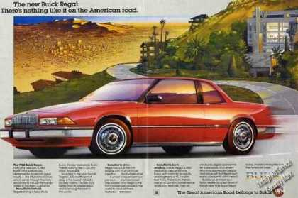Buick Regal Car Art Beautiful 2 Pg (1988)