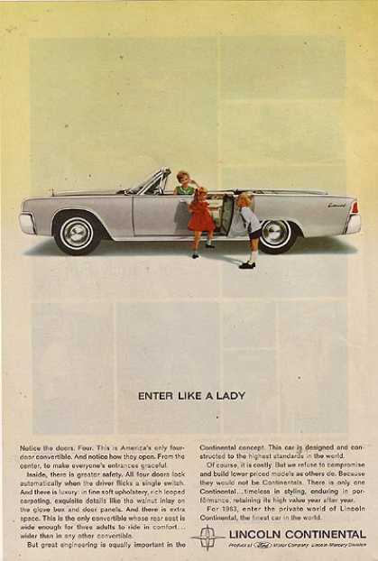 Ford's Lincoln (1963)