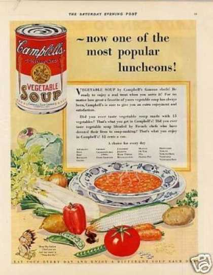 Campbell's Vegetable Soup (1929)
