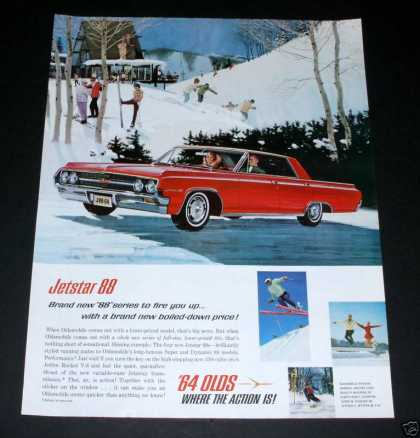 Oldsmobile Jetstar 88, Rocket V8 (1964)