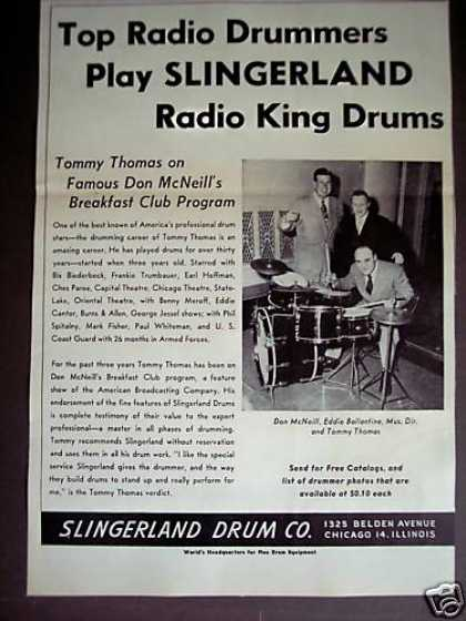 Slingerland Drums Tommy Thomas (1948)