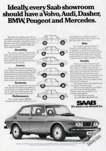 "Saab ""What a Car Should Be"" (1974)"