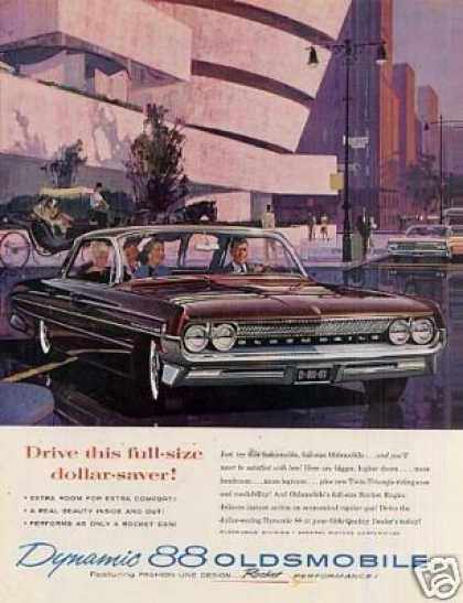 Oldsmobile Dynamic 88 Car (1961)