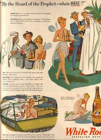 White Rock Sparkling Water's America's Finest Mixer (1946)
