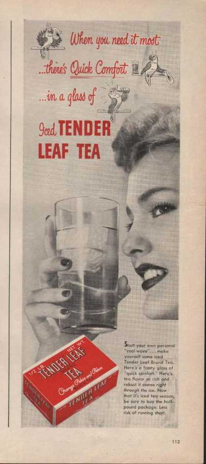 Iced Tender Leaf Tea (1946)