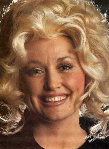 Dolly Parton Closeup Magazine Print Photo (1981)