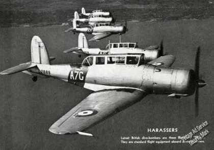 "Blackburn ""Skuas"" British Dive Bombers Feature (1939)"